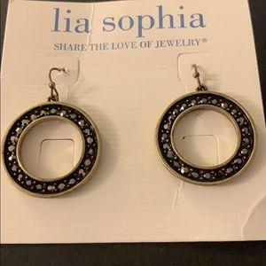 Lia Sophia Gold Coast pierced earrings